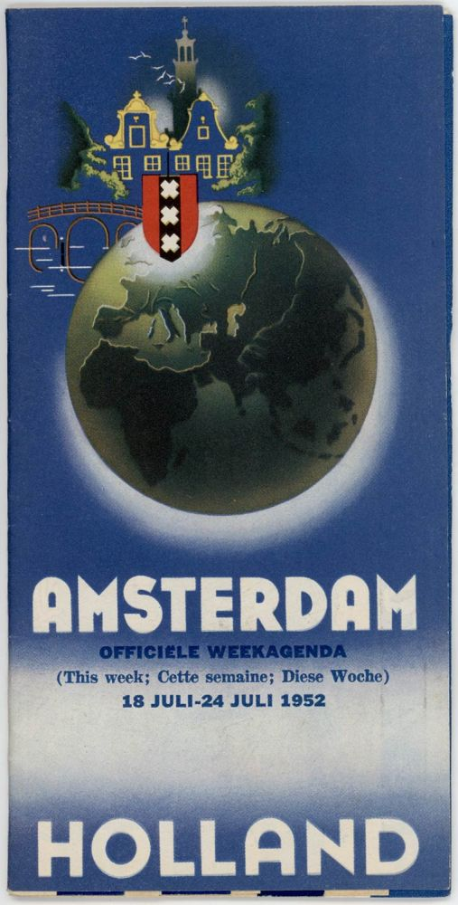 Amsterdam Holland. Officiele Weekagenda. HOLLAND - AMSTERDAM.