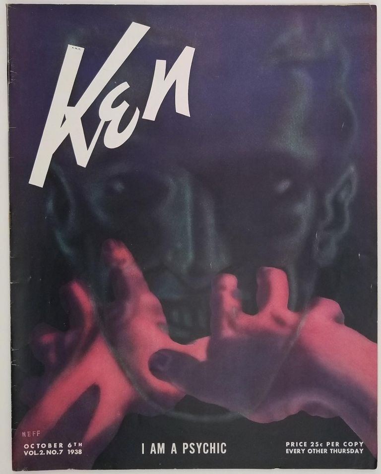 Ken. October 6 1938. HOLLYWOOD / SPIRITUALIST CHURCH / FOOTBALL / WORLD WAR II.