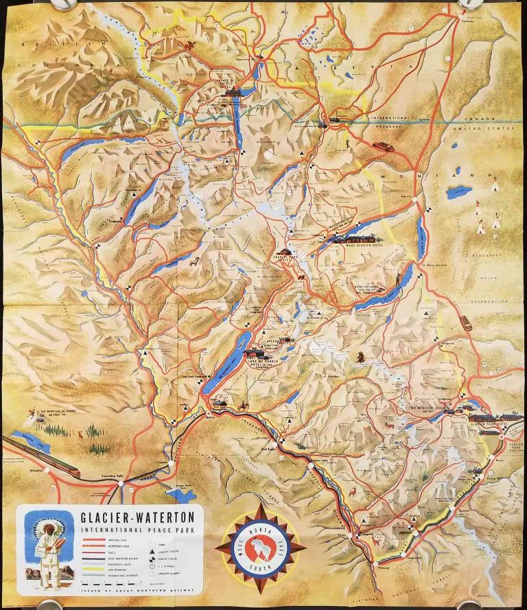 Glacier National Park in the Montana Rockies. a great place to go. on montana big sky resort map, montana billings map, montana on a map, montana hot springs map, montana california map, montana mile marker map, montana city map, montana red lodge map, montana united states map, montana ennis map, montana wildlife map, montana continental divide trail map, montana yellowstone map, montana idaho map, montana camping map, montana zip code map, montana helena map, montana great falls map, montana bozeman map,