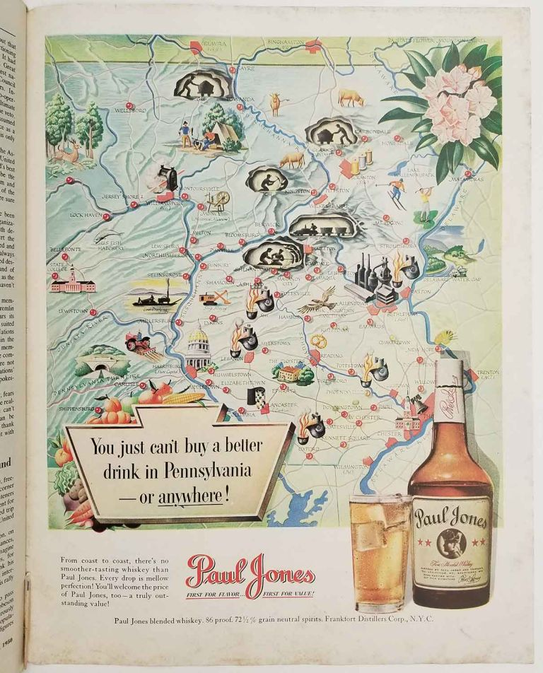Collier's. October 28, 1950. FOOTBALL / NEW YORK U. N. HEADQUARTERS / PENNSYLVANIA PICTORIAL.