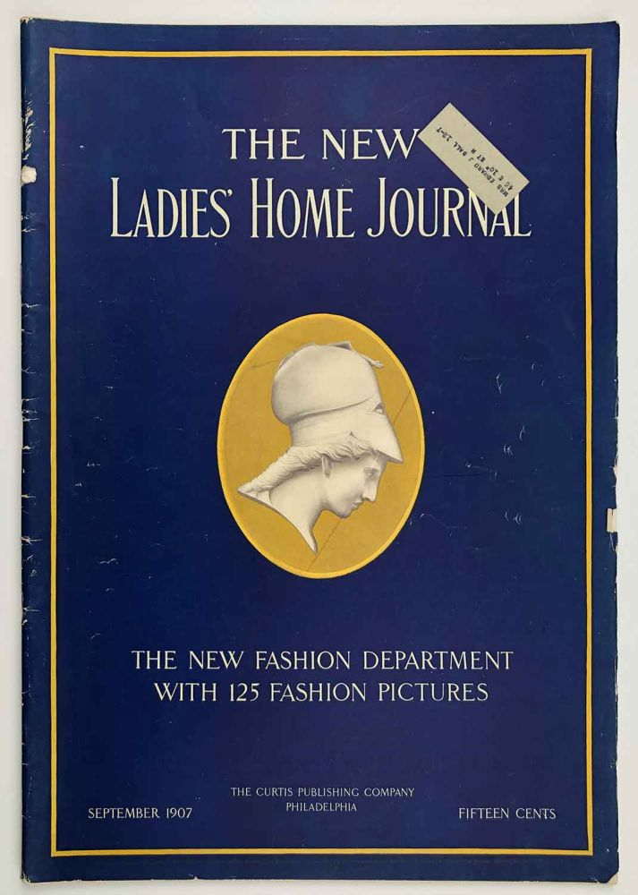 The New Ladies' Home Journal. September 1907. FASHION.