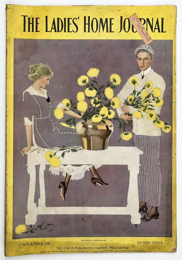 The Ladies' Home Journal. November 1911. COLES - THANKSGIVING PHILLIPS.