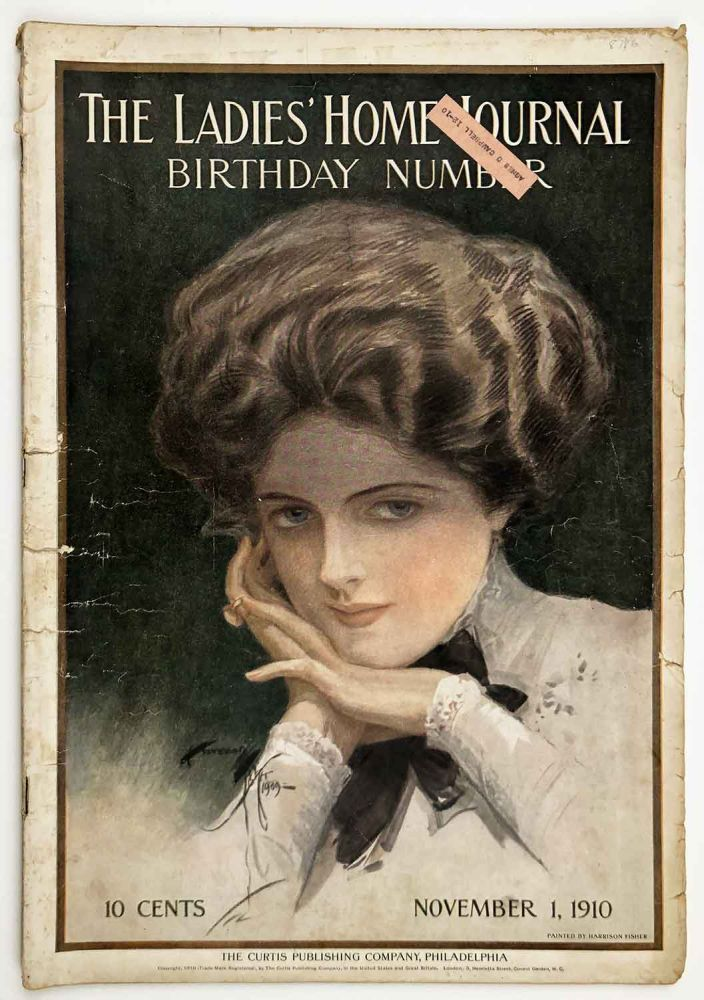 The Ladies' Home Journal. Birthday Number. November 1, 1910. HARRISON FISHER.