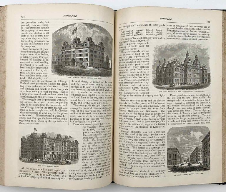 Scribner's Monthly, An Illustrated Magazine for the People. May - October 1875. CALIFORNIA - SAN FRANCISCO / CHICAGO / GRAND CANYON / PHILIPPINES.