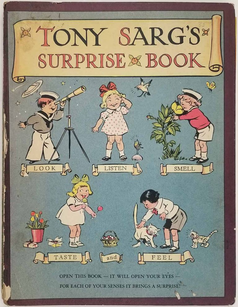 Tony Sarg's Surprise Book. MOVABLE PICTURES - CHILDREN'S.