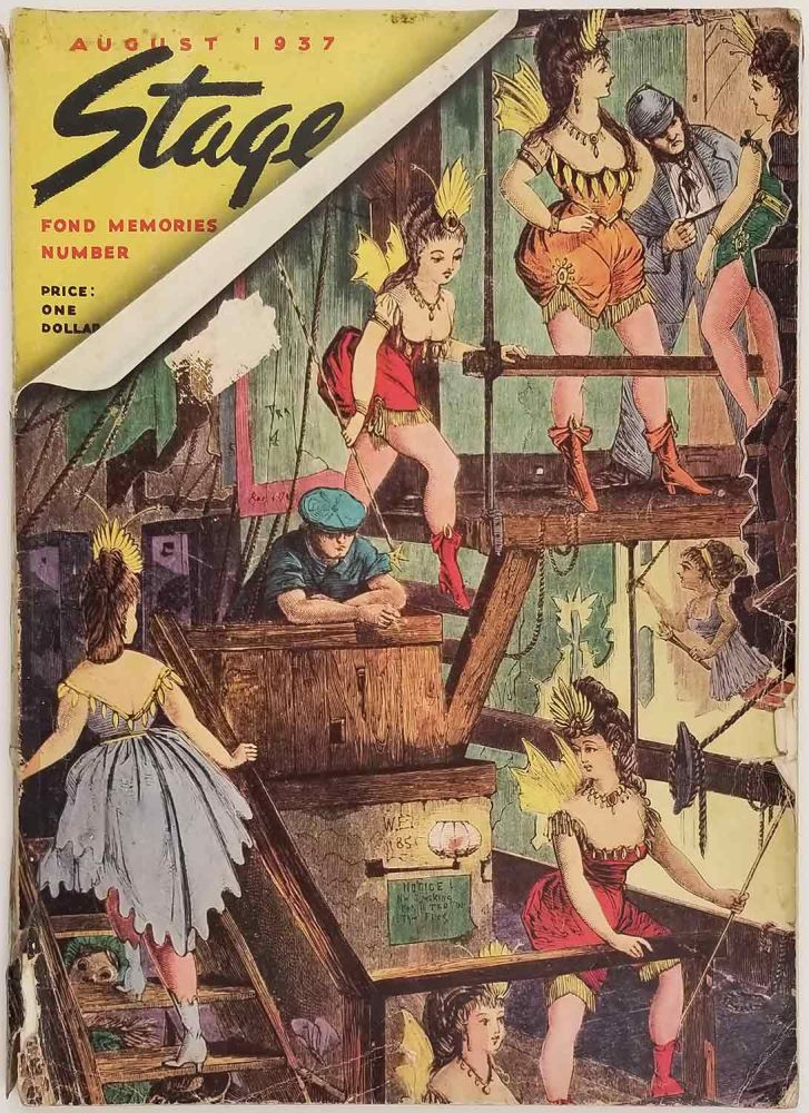 Stage Magazine. Fond Memories Number. August 1937. THEATER / FILM.