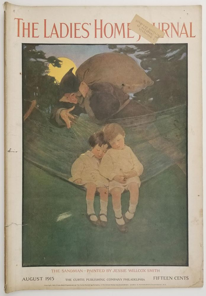 The Ladies' Home Journal. August 1915. JANE ADDAMS / FASHION / DOMESTIC.