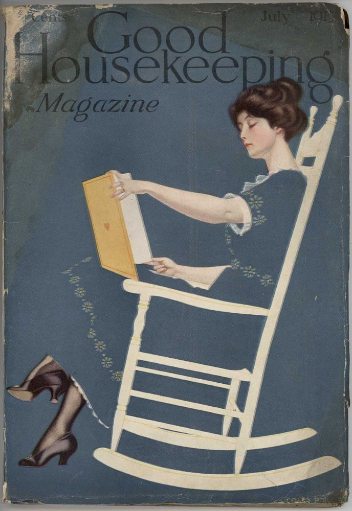Good Housekeeping. July 1913. COLES - FADE-AWAY GIRL - READING PHILLIPS.