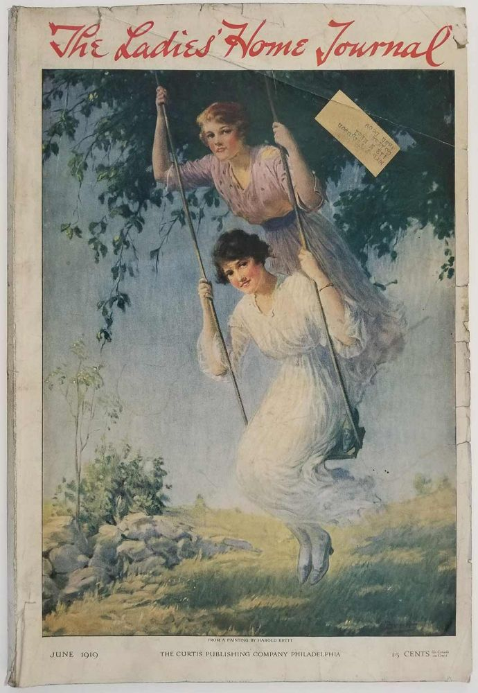 The Ladies' Home Journal. June 1919. POGANY DJER KISS AD /HOUSE PLANS / WORLD WAR I.