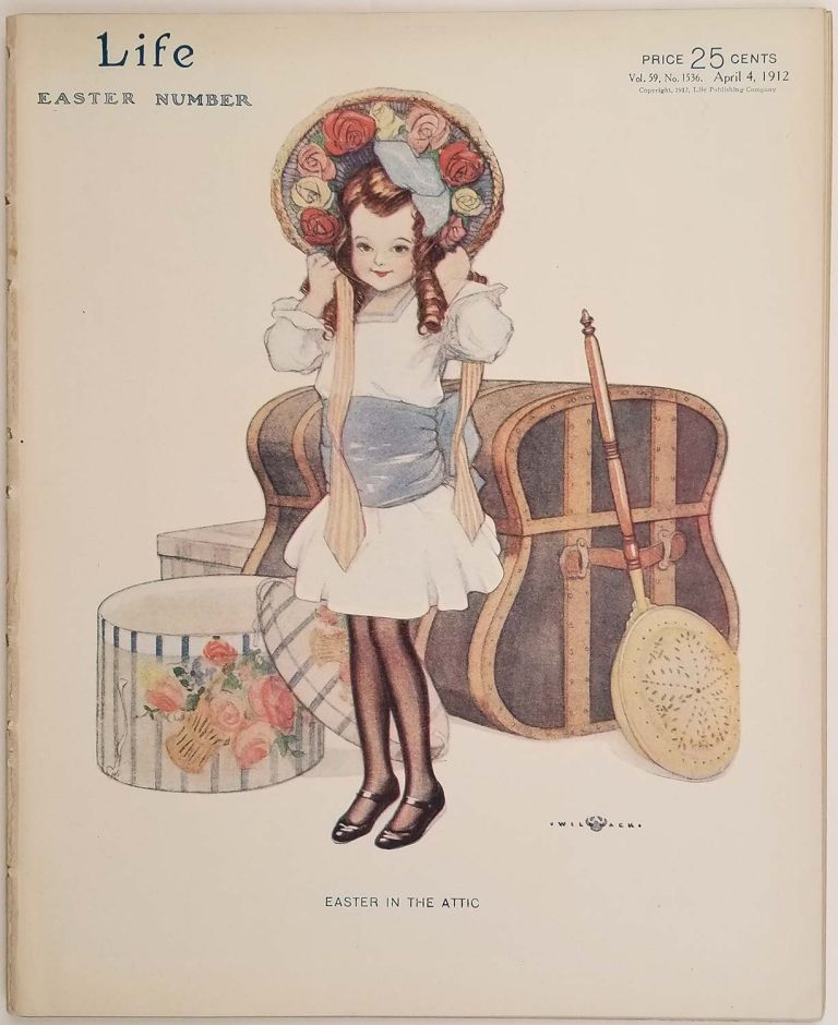 Life Magazine. April 4, 1912. Easter Number. COLES PHILLIPS / SOCIAL COMMENTARY.