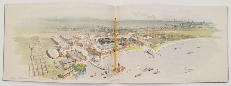 The Winters Art Lithographing Company's Popular Portfolios of the World's Columbian Exposition. CHICAGO - WORLD'S COLUMBIAN EXPOSITION.