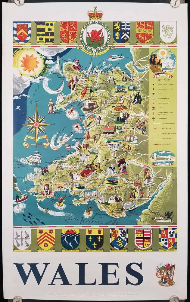Wales. GREAT BRITAIN - WALES.
