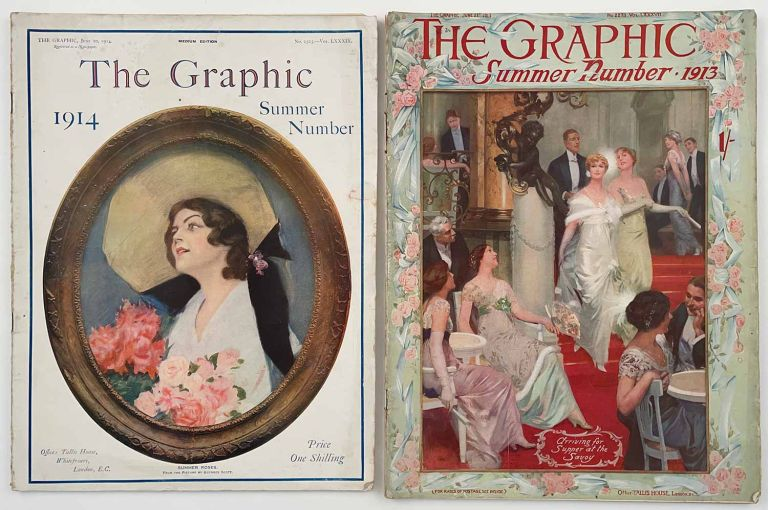 The Graphic. Summer Numbers 1913 and 1914. TWO COMPLETE ISSUES. ART DECO / IRISH NATIONALISM / EDWARDIAN LIFE.