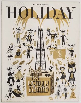 Holiday Magazine. 1948 - 10. TEXAS