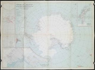 The Antarctic Regions. ANTARCTIC - FLIGHT OF RICHARD E. BYRD