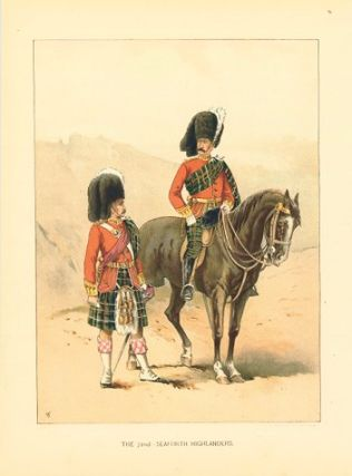 The 72nd - Seaforth Highlanders. British Military.