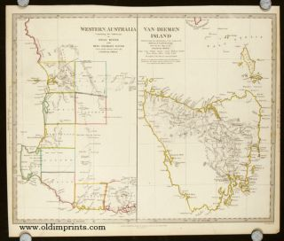 Western Australia Containing the Settlement of Swan - River and King George's Sound. Van -...