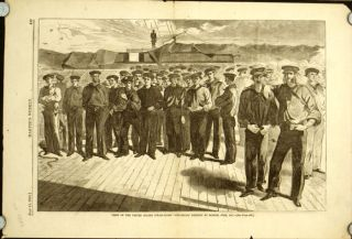 "Crew of the United States Steam-Sloop ""Colorado,"" Shipped at Boston, June, 1861. -13"