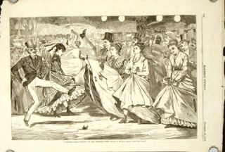 A Parisian Ball -- Dancing at the Casino. TOGETHER WITH A Parisian Ball -- Dancing at the...