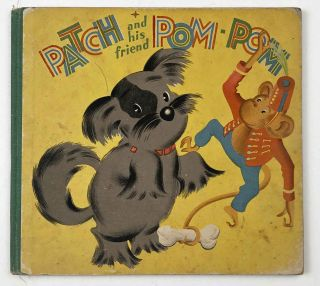 A Tale of Two Tails. Patch and his Friend Pom-Pom. AUSTRALIA, Anne Bracken
