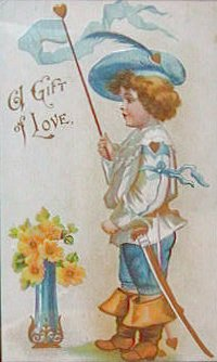A Gift of Love. VALENTINE POSTCARD
