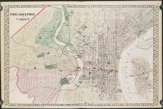 Philadelphia and Camden. PENNSYLVANIA - PHILADELPHIA CITY PLAN