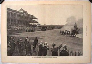 The Chicago Race-Track. ILLINOIS - CHICAGO.
