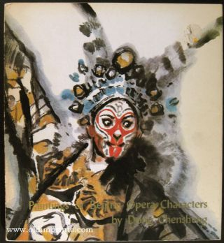 Paintings of Beijing Opera Characters by Dong Chensheng. CHINA - OPERA, Jiang Feng, Wu Zuguang