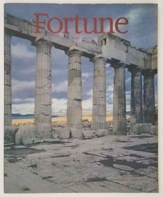 Fortune Magazine. May 1945. AFRICAN AMERICAN HISTORY / WORLD WAR II