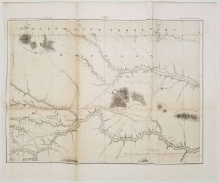 United States Northern Boundary Commission. Reconnaissance Maps . (Six sheets and Profile) Showing the general features of the topography adjacent to the 49th. parallel from the Lake of the Woods to the Rocky Mountains.