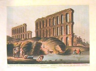 Ruins of the Grand Aqueduct of Ancient Carthage. Ruines du Grand Aqueduc de L'ancienne Carthage....