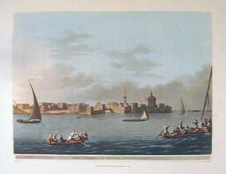 Fort & Harbour of Aboukir, Ancient Canopus. EGYPT.