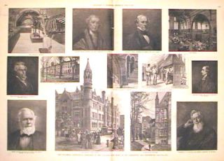The Columbia Centennial - Sketches of the College and Some of Its Presidents and Professors. COLUMBIA COLLEGE.