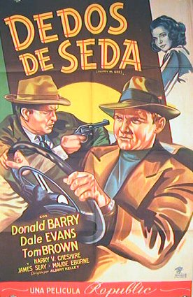 Dedos de Seda (Slippy McGee). (Silk Fingers). MOVIE POSTER.