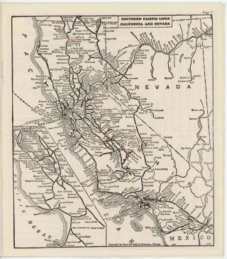 Coast Line and San Joaquin Valley Line Time Tables. Southern Pacific Lines. SOUTHERN PACIFIC...