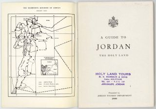 A Guide to Jordan The Holy Land.