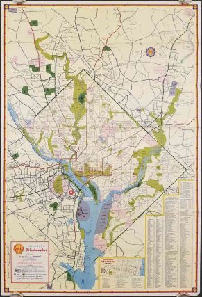 Shell Map of Metropolitan Washington, D.C. WASHINGTON D. C