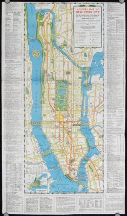 Visitors Guide and Map of New York. The Greatest All-Year-Round Vacation City. NEW YORK CITY -...