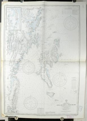 Lot of 12 United States Hydrographic Office Charts of the eastern coast of the Bay of Bengal...