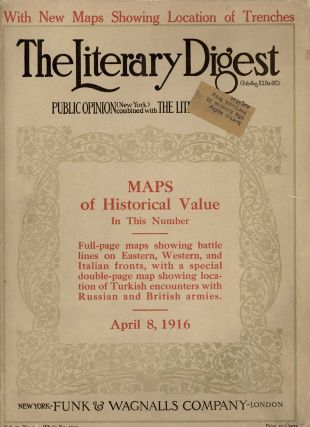 The Literary Digest. 1916 - 05 - 08. WORLD WAR I. - POETRY