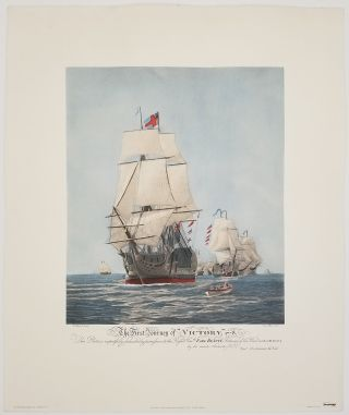 """The First Journey of """"Victory,"""" 1778."""