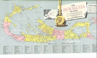 Handy reference map of Bermuda. BERMUDA
