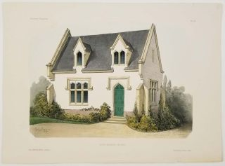 Petite Habitation Anglaise. [Small English-style House]. FRENCH COUNTRY HOMES