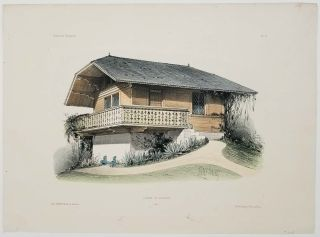 Chalet de Longpont. (Oise). FRENCH COUNTRY HOMES