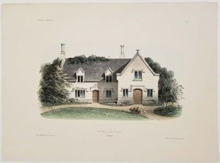 Maison de L'ile de Wight. (Angleterre). [House on the Isle of Wight]. COUNTRY ARCHITECTURE