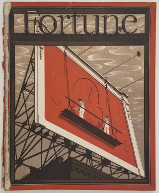 Fortune Magazine. May 1937. NAZI GERMANY / GREAT DEPRESSION