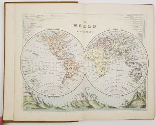 The World an Atlas. Containing Thirty Four Coloured Maps with a Complete Index