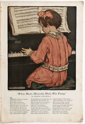 When Music, Heavenly Maid, Was Young. [ COLOR ILLUSTRATION in complete issue of Woman's Home...