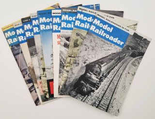 9 ISSUES] Model Railroader. MODEL TRAINS