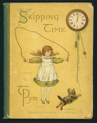 Skipping Time. CHROMOLITHOGRAPHS.